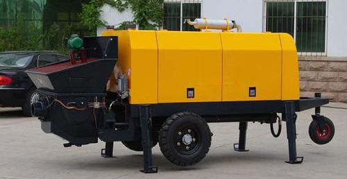 混凝土拖泵工作前需要检查哪些呢?瑞欣工程告诉你