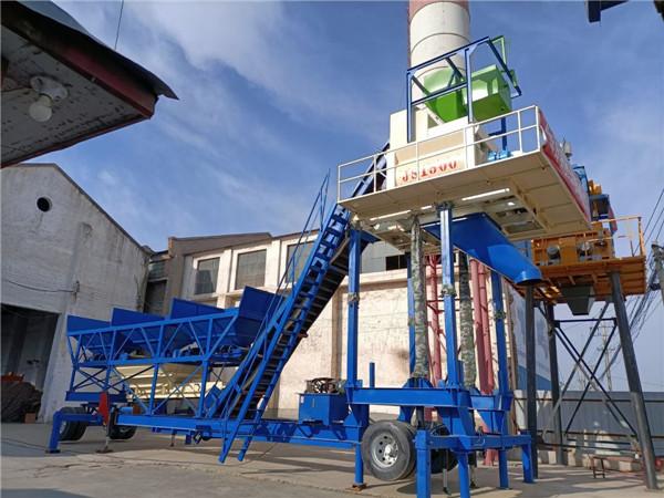 移动强制式混凝土搅拌站厂家