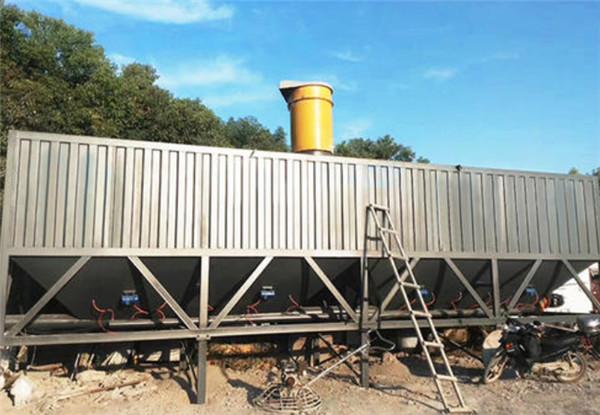 环保型卧式水泥仓