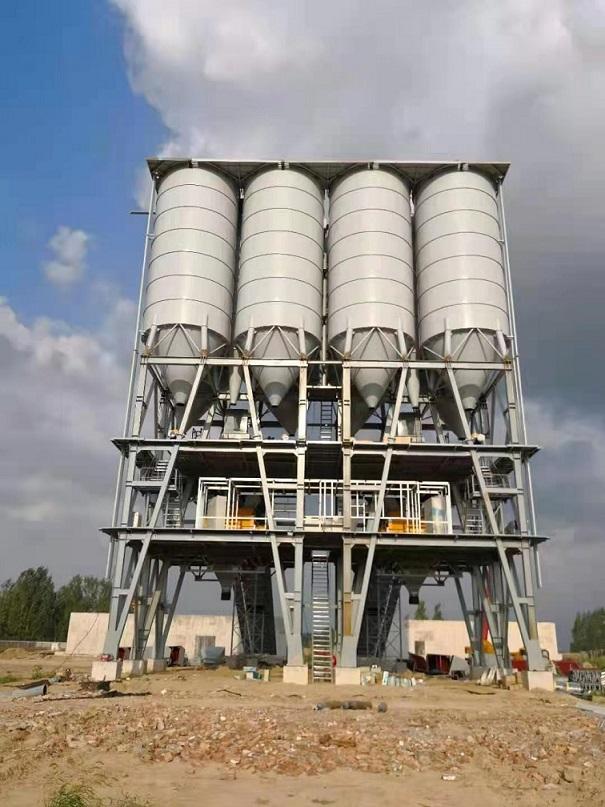 混凝土搅拌站厂家-塔式双配180型搅拌站