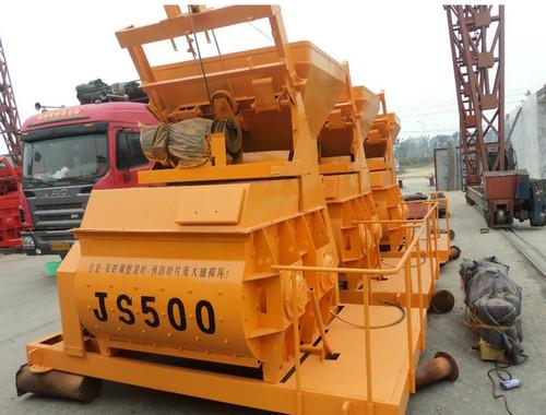 JS500混凝土搅拌机有多重啊?你是不是也一样的好奇呢