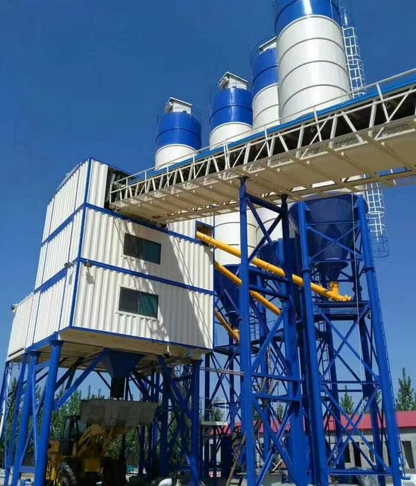 河南混凝土搅拌站设备都是由哪些构件组成的呢?