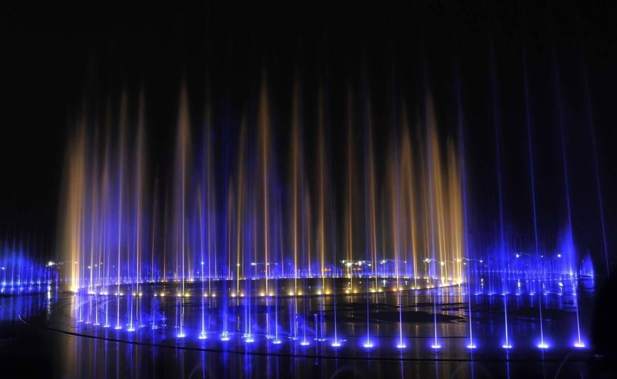 四川旱地音乐喷泉案例展示