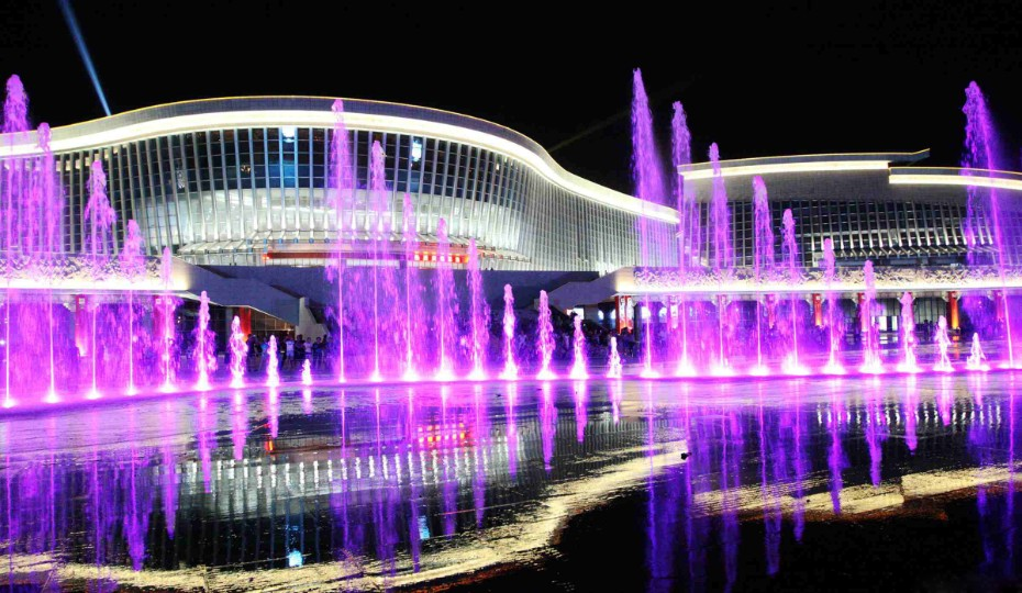 四川旱地音乐喷泉