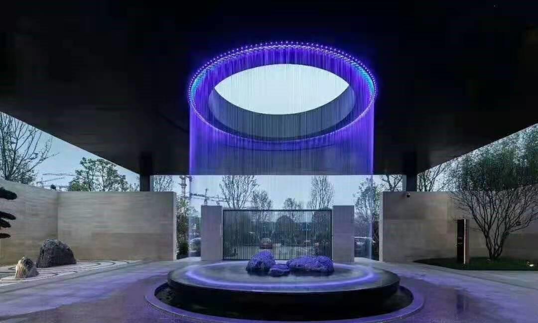 数字水帘喷泉设计