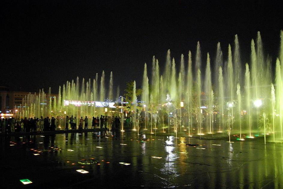 四川广场喷泉制作