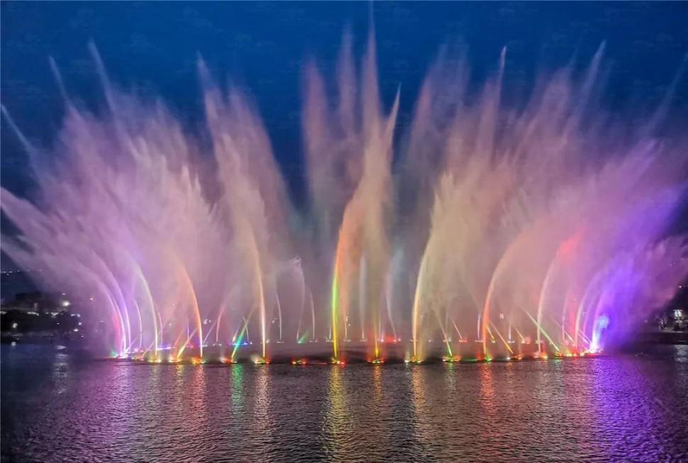 四川大型湖面音乐喷泉工程