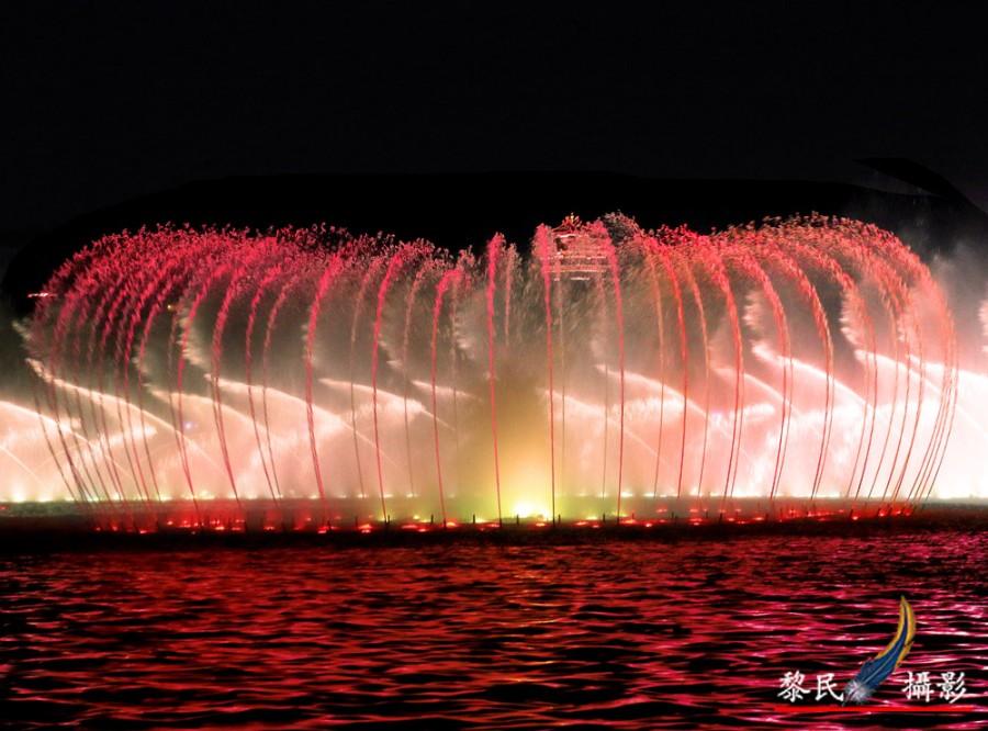 四川大型湖面音乐喷泉设计