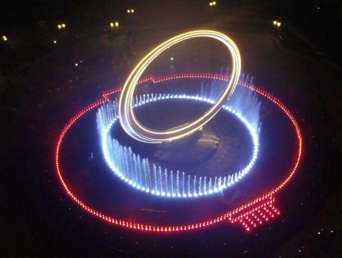 成都广场喷泉制作