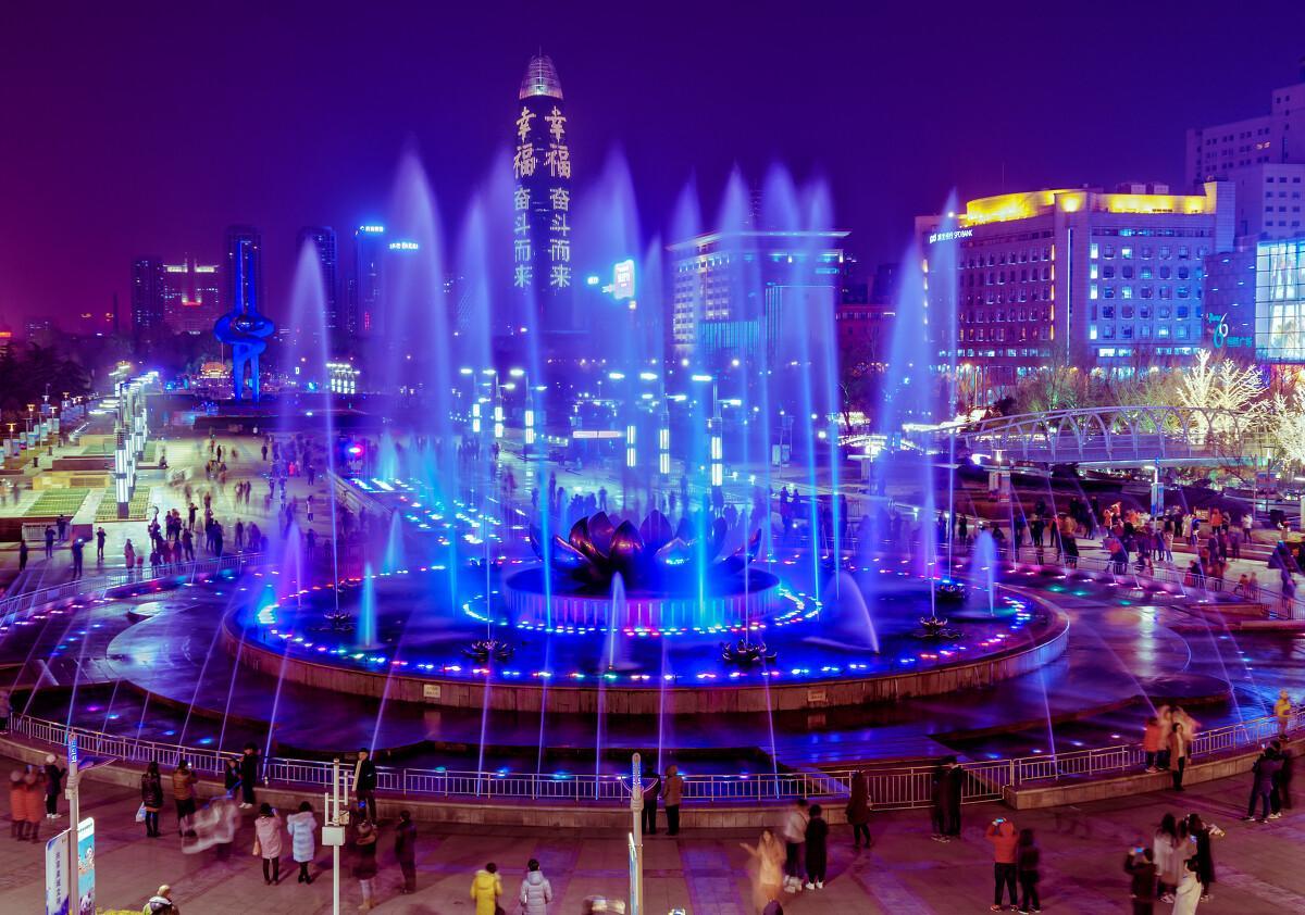 四川广场喷泉公司
