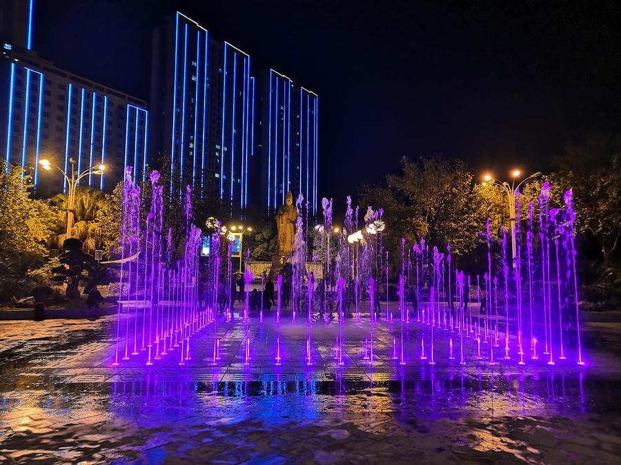 旱地音乐喷泉制作
