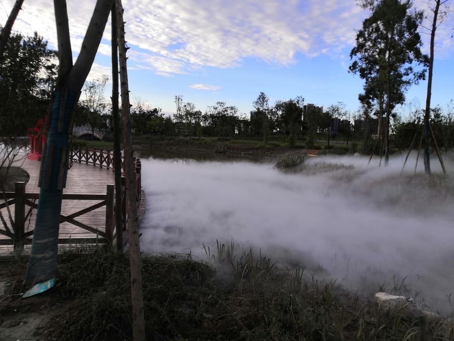 景观喷雾设计