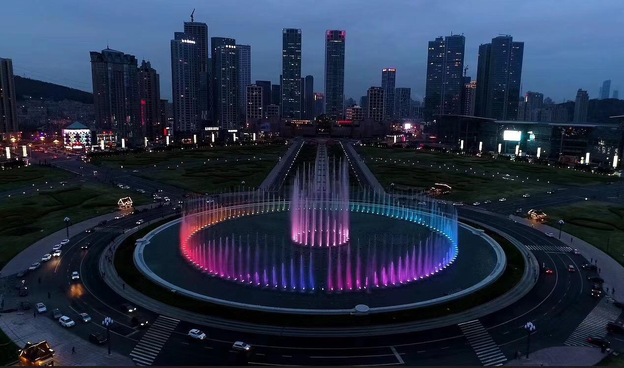 成都广场喷泉