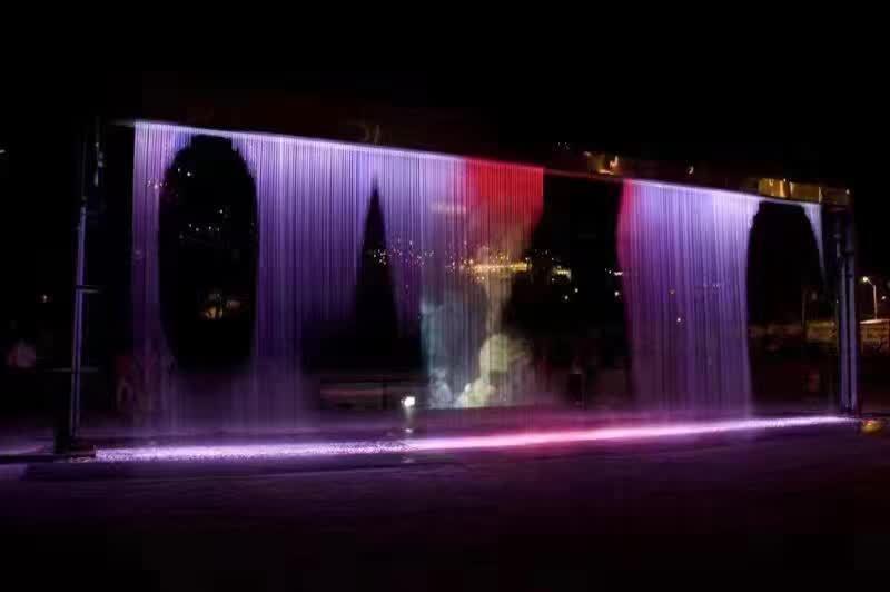 水帘喷泉工程