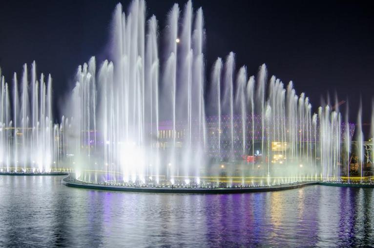 四川水景音乐喷泉设计公司