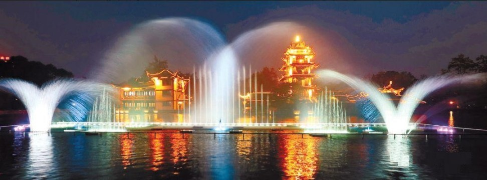 成都广场音乐喷泉公司