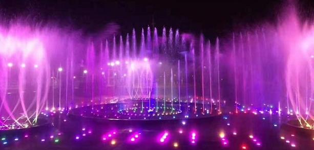 成都喷泉程控喷泉的特点,原理及应用