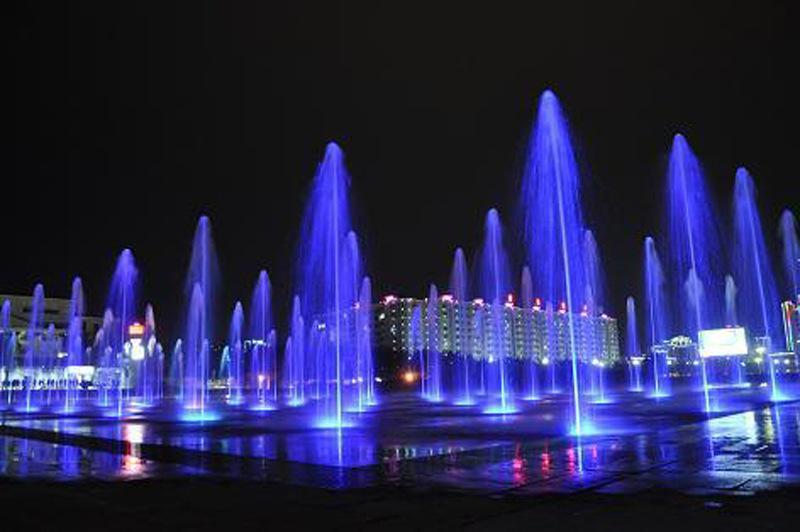 成都旱地音乐喷泉设计
