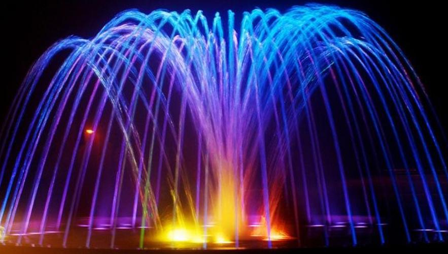 浅谈四川音乐喷泉波光喷泉的应用和原理