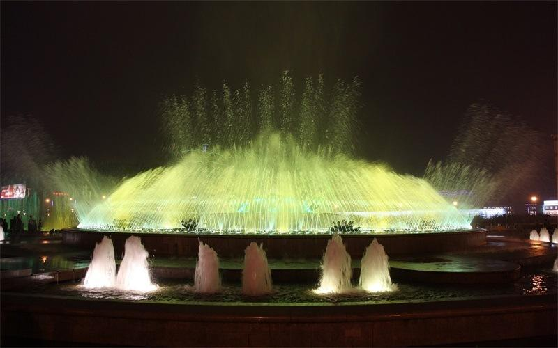 旱地音乐喷泉造价