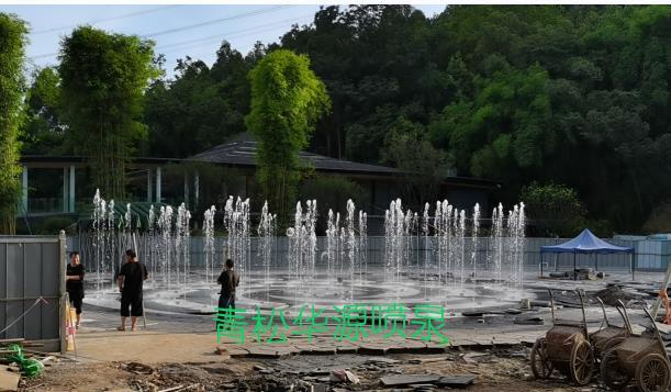 无根山喷泉工程