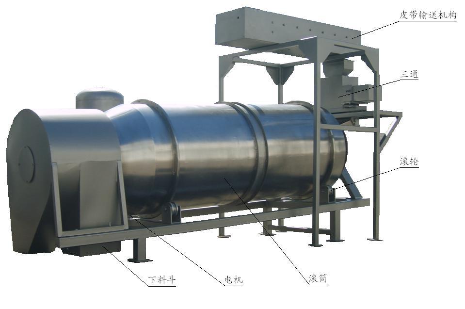 PC系列滚筒式油脂喷涂机