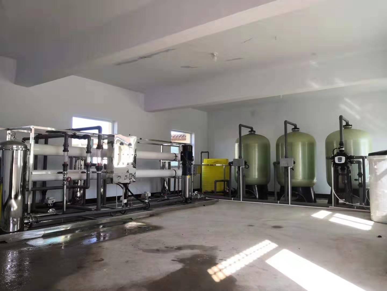 山西潞安集团常兴煤业10T反渗透设备
