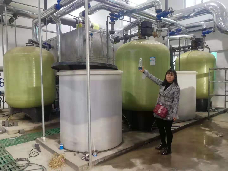 陕西铜川黄陵热力公司100T软水器