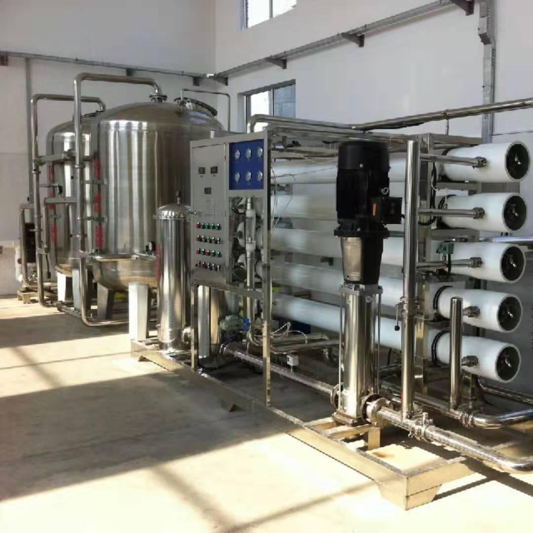 内蒙古金川乳业20T反渗透设备