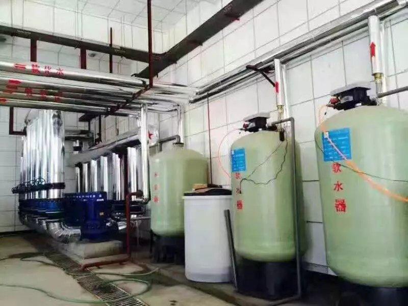 延安大学15T软化水设备