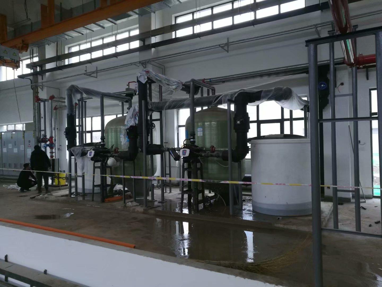 西安阎良飞机研究所100T软化水设备