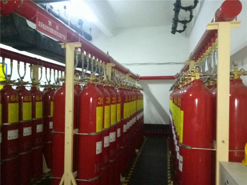 气体灭火系统安装