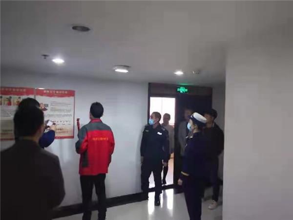 开发银行大厦消防设施检查