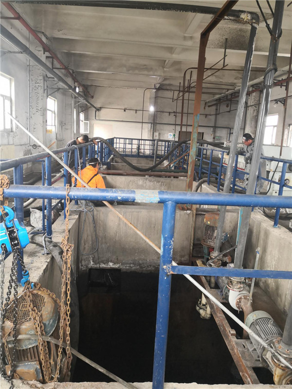 榆林市象道物流化粪池清理