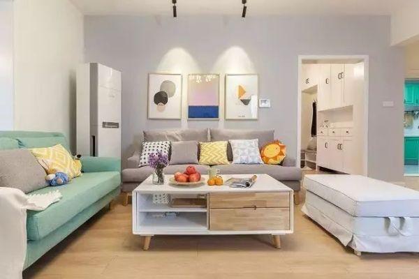 130平米简约风格延安新房家装装修 装修效果温馨感十足