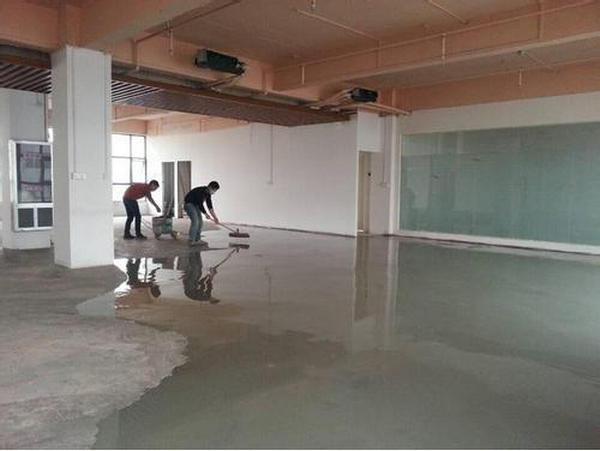 新疆水泥自流平合作案例