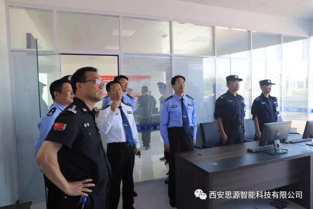 思源警务站被作为出色警务站案例展示