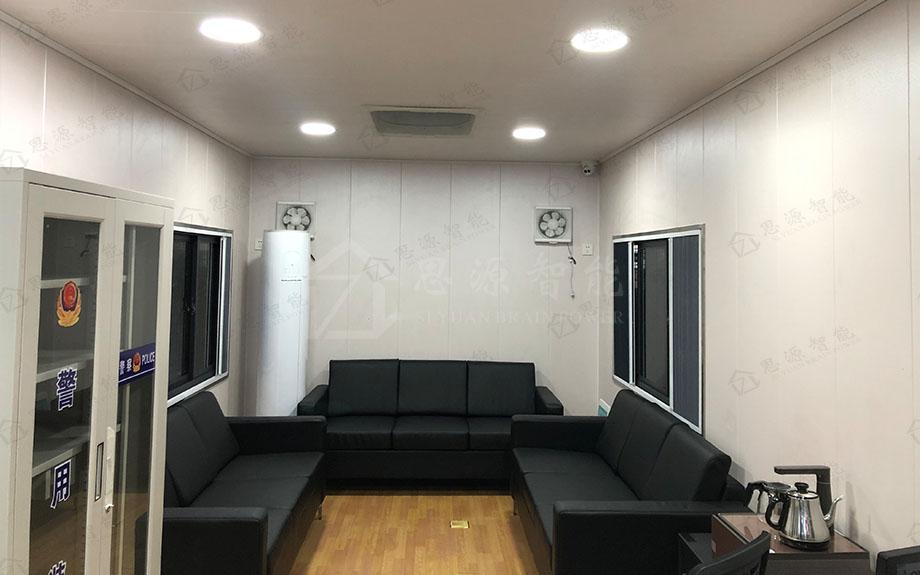 重庆机场移动警务室已投入使用
