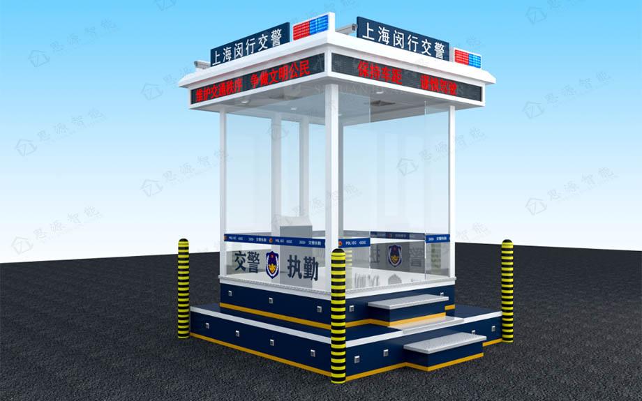 陕西警务岗亭结构用材是什么?