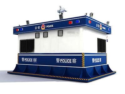 陕西交警岗亭设计安装与保养维护