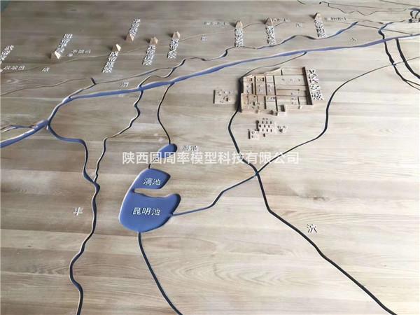 西安规划沙盘