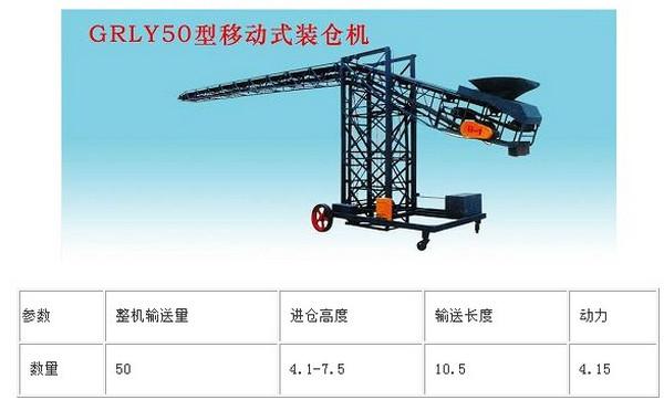 GRLY50型移动式装仓机