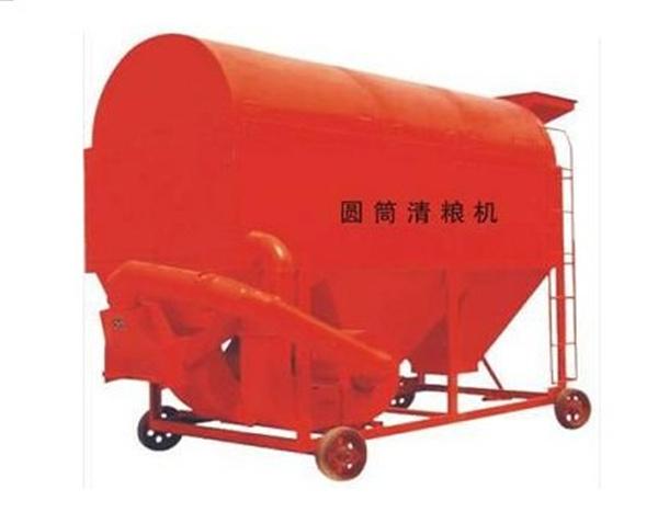 移动式圆筒清粮机