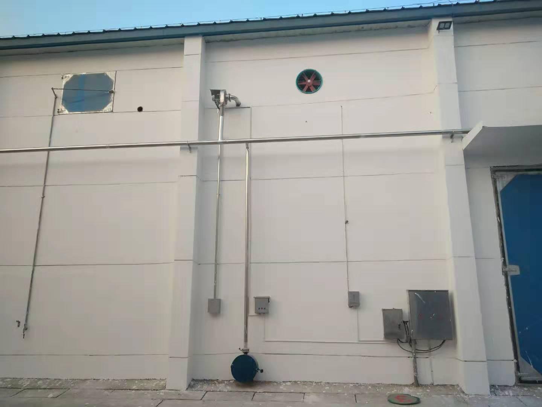 仓内环流熏蒸控温系统