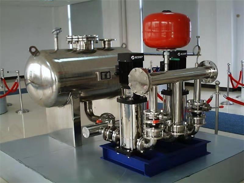 新疆供水设备展示