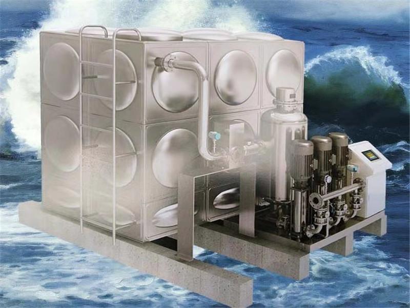 新疆箱式无负压供水设备