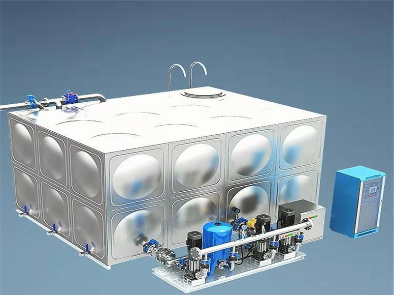 新疆箱式变频供水设备