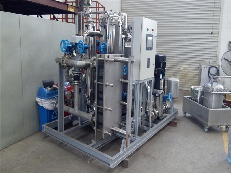 水水直混式换热机组