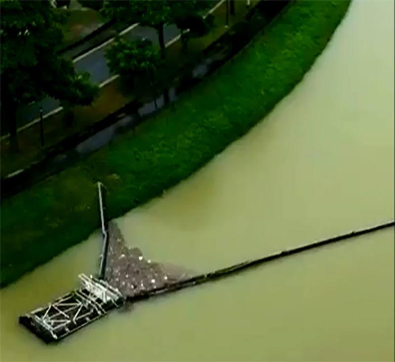 分布式清漂筏(长臂、全向、定向)