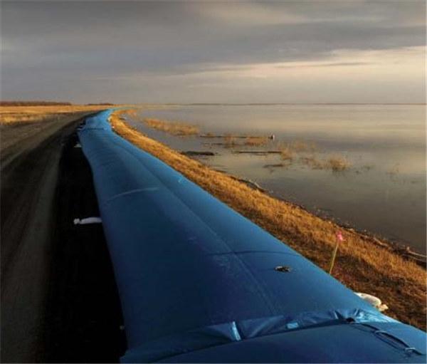 防洪防汛围水带,拦水坝袋,防汛子堤